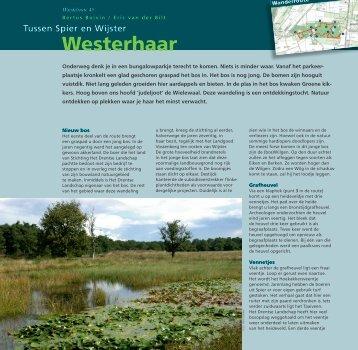 Westerhaar - Stichting Het Drentse Landschap