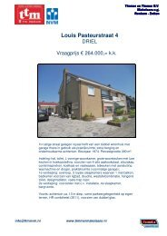 Download brochure - Timmer & Timmer Makelaars