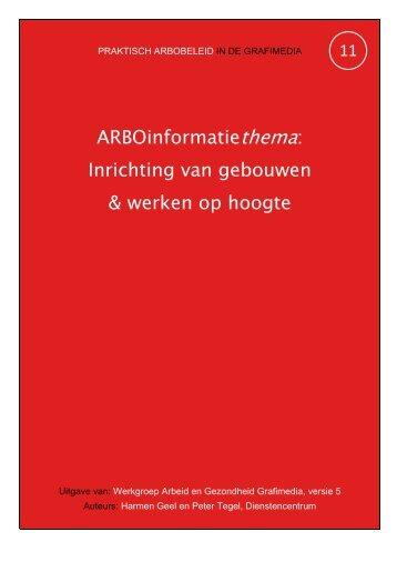 Inrichting van gebouwen & werken op hoogte - Arbografimedia.nl