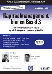 Kapitaalmanagement binnen Basel III - Orange Oaks