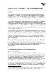Implementatie Commissie Arbeidsparticipatie, Van ... - docs.szw.nl