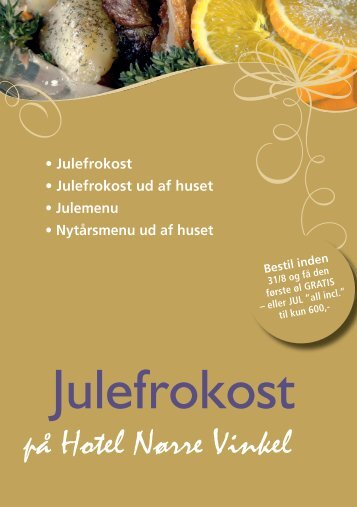 Julefrokost - Hotel Nørre Vinkel