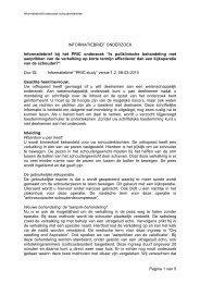 Informatiebrief downloaden - Maatschap Orthopedie Geldrop