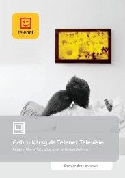 Televisie brochure - Klantenservice - Telenet