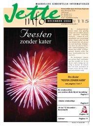 Jette Info 115 NL - 12/2004