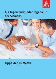 Als Ingenieurin oder Ingenieur bei Siemens - Praktikum ...