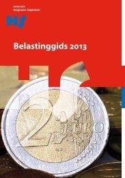 Belastinggids Hoogezand-Sappemeer 2013 (pdf) - Gemeente ...