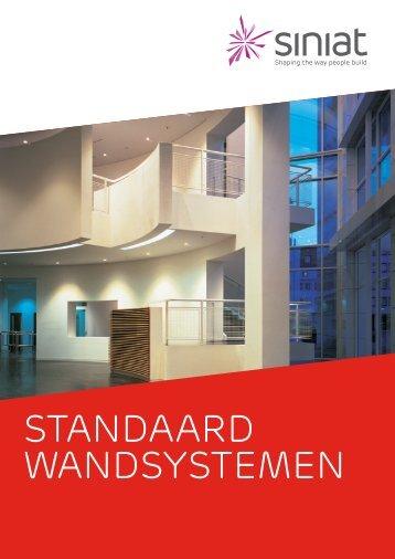 Standaard Wandsystemen Siniat