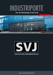 Download brochure på industriporte - Sydvestjysk Portindustri