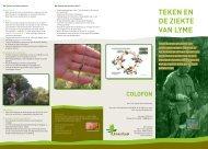 Brochure ziekte van Lyme 2e versie - Bosschap