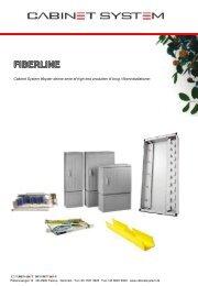 Down-load Fiber line PDF-brochure - Cabinet system