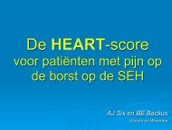 NVH Congress 2011 Presentation - HEART Score