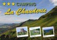 Brochure - campings in Frankrijk