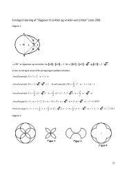 """Forslag til løsning af """"Opgaver til cirklen og vinkler ved cirklen"""" (side ..."""