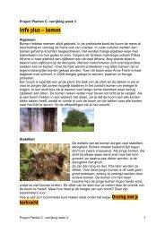 Info plus – bomen - Alles-in-1