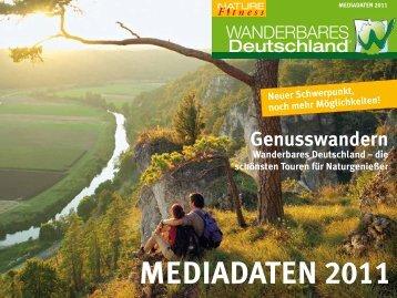 die schönsten touren für naturgenießer meDiaDaten 2011