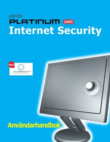 Installera Platinum Internet Security 2005 - Panda Software