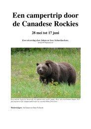 Een campertrip door de Canadese Rockies 28 mei ... - CloudBirders