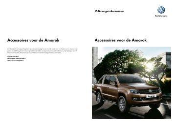 Prijslijst VW Bedrijfswagens Amarok Accessoires per 01 ... - Fleetwise
