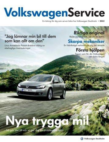 Servicemagasin - Volkswagen Stockholm