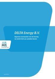 Voorwaarden electriciteit zakelijk - Smartpower