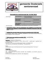 verslag 22 juni 2012 - Gemeente Oosterzele