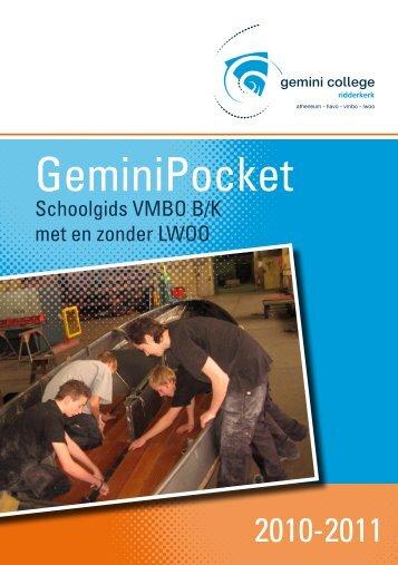 GeminiPocket - gemini college