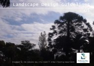 Landscape Design Guidelines June 2005 - Hobsons Bay