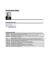 Curriculum Vitae - JensenAdvice