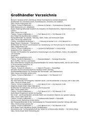Großhändler Verzeichnis - eBooks und Software SaarPfalz24