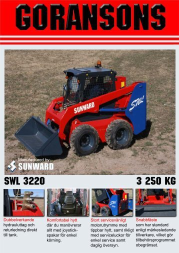 SWL 3220 3 250 KG - Goransons
