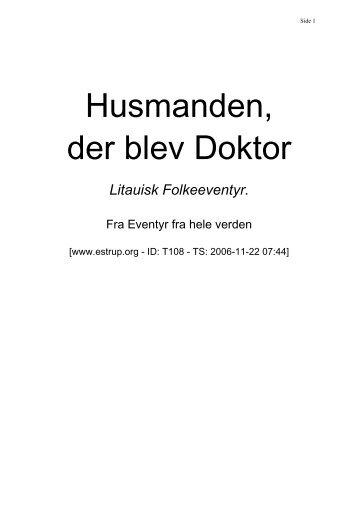 Husmanden, der blev Doktor