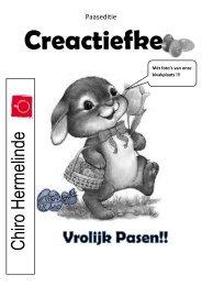 Creactiefke 2012 Pasen - Chiro Kemzeke