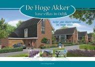 luxe villa's in Odijk - Halbertsma van den Boom