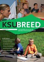 KSU-breed, november 2011 - Katholieke Scholenstichting Utrecht