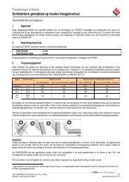 Toepassings richtlijnen gevelplaten Loechtenberg F1 - Vastgoed ...