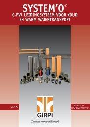 Technische informatie System 'O - Akatherm