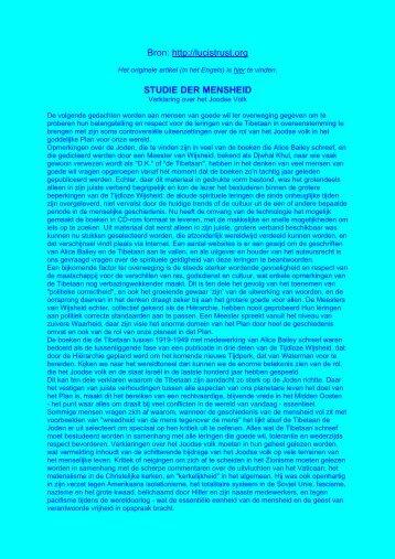 Verklaring over het Joodse Volk