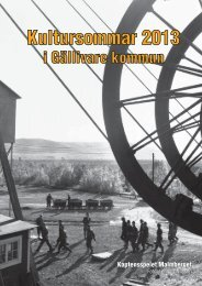 Kultursommar 2013 (.pdf) - Gellivare