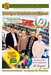 Sveriges bredaste sortiment - Kontorsvaruhuset i Tomelilla AB