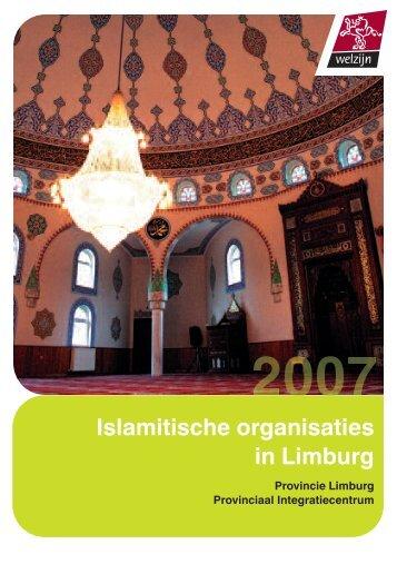Islamitische organisaties in Limburg