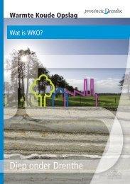 brochure 1 wat is WKO - Provincie Drenthe
