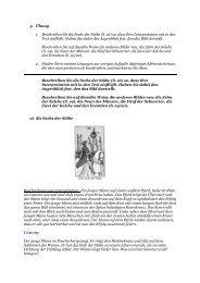 3. Übung 1. Beschreiben Sie die Sechs der Stäbe (S. 16) so, dass ...