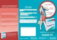 Download de brochure - Sedatif PC