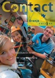 ONC Contact juni 2013 - Clauslaan - Oranje Nassau College