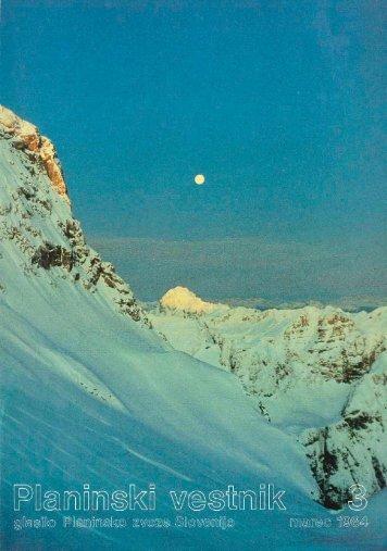 Marec - Planinski Vestnik