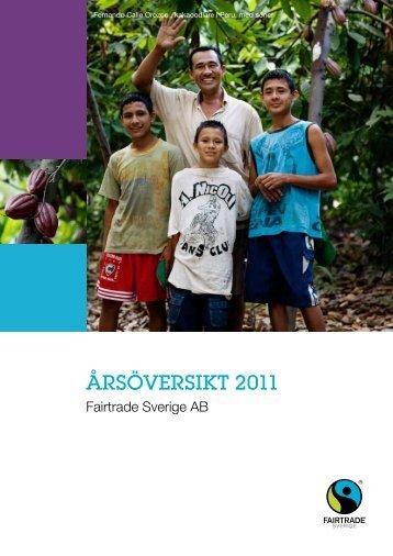 årsöversikt 2011 - Fairtrade