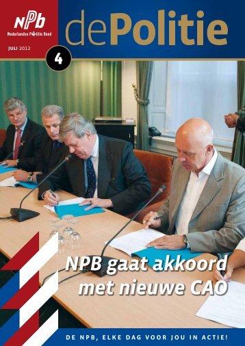 NPB gaat akkoord met nieuwe CAO - Nederlandse Politiebond.nl