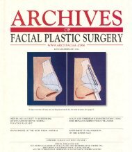 FACIALPLASTICSURGERY - Advanced Facial Plastic Surgery Center