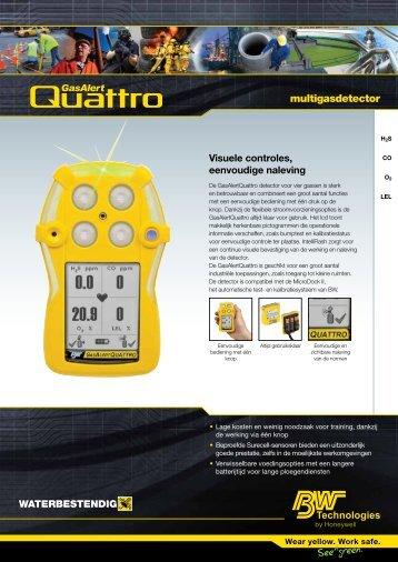 multigasdetector - GasAlertQuattro